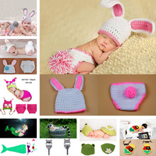 Girl Rabbit Props Knitted