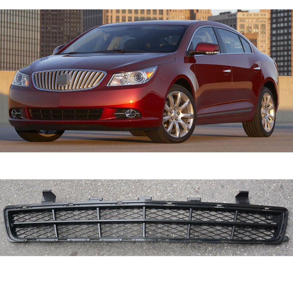 2013 Buick Lacross: 1 Piece Replacement ABS Front Bumper Lower Mesh Grid Grill