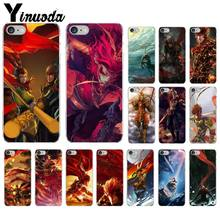 Yinuoda Monkey King Hero Is Back Luxury Unique Design Phone Cover for Apple iPhone 8 7 6 6S Plus X XS MAX 5 5S SE XR Cover(China)