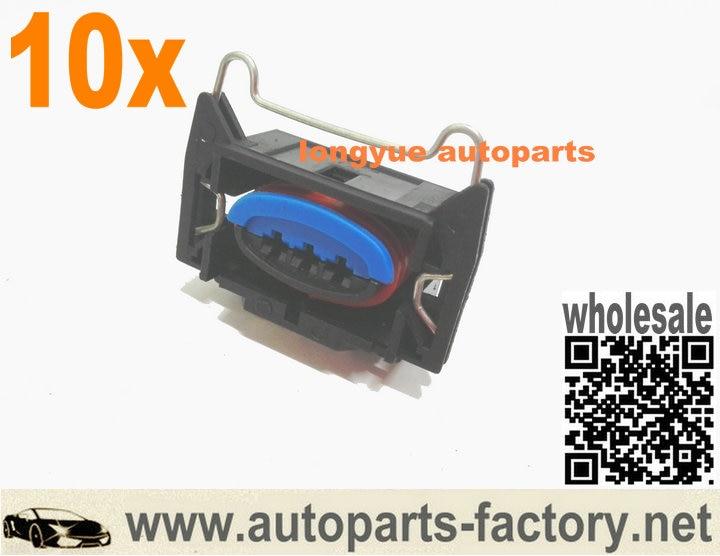 Longyue 10Kit Coil Pack Coilpack Connector Plug For Ford Zndspule Spule  Stecker EDIS Megasquirt ECU