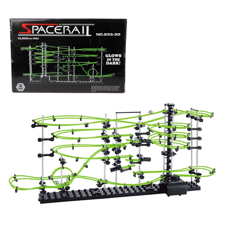 Space Coaster Spacerails Glow in the Dark 13500mm Rail Level 3 Game 2333G image