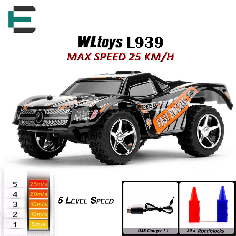 RC Drift Car WLtoys L939 High Speed RC Car Toys 2.4G mini <font><b>5</b></font> Level Speed Shift Full Proportional Steering Remote Control kid gift