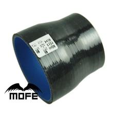 Mofe автомобильный воздухозаборник силконус трубка 63-76 мм черный прямой Редуктор шланг для турбо Универсальный