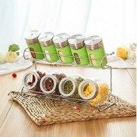 FREE SHIPPING 1 Piece/Set seasoning box condiment box food container kitchen organizer sugar jar spice for storage box