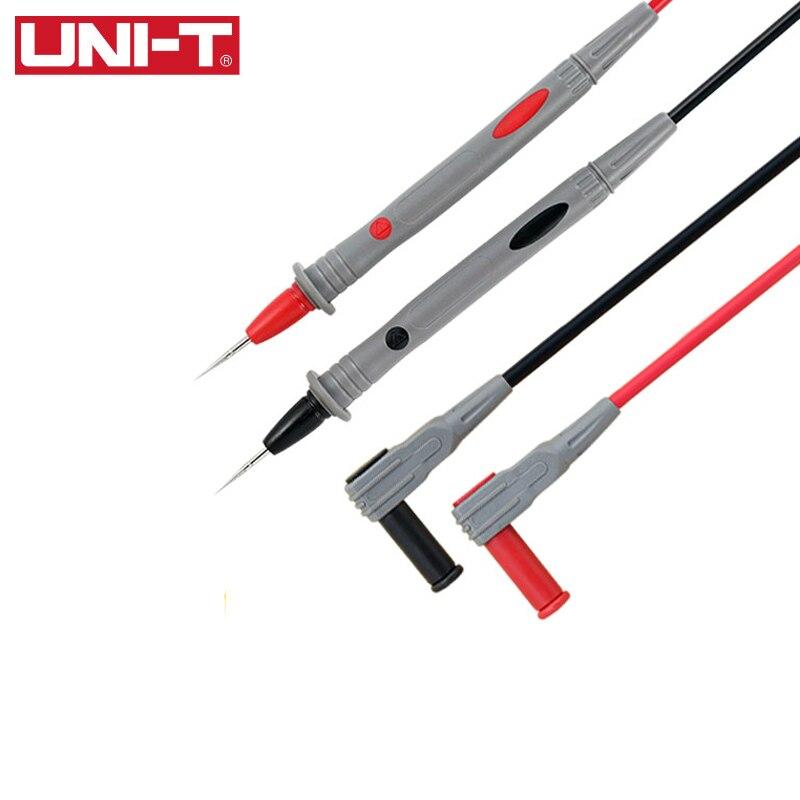 Aletler'ten Cihaz Parçaları ve Aksesuarları'de UNI T UT L73 multimetre kalem özel ucu test kalemi malzeme probu için geçerlidir en Mulitmeters evrensel arayüz title=