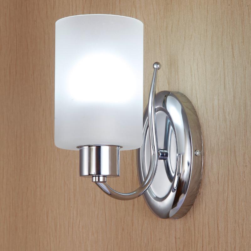 nueva moda simple puerta de pared led lmpara de pared dormitorio espejo lmpara de noche