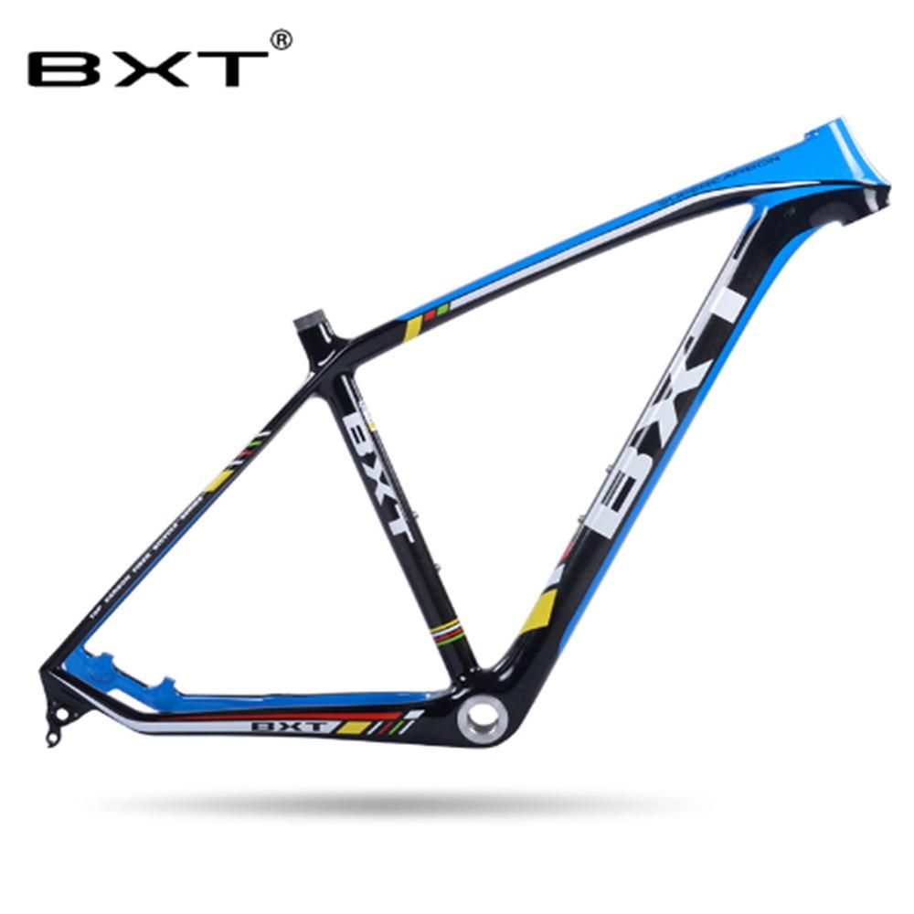 все цены на Promotion Full 3k Carbon Frame Mountain Bike 29er bicycle Carbon MTB Frame brand BXT 29er bicicletas mountain bike 29 онлайн