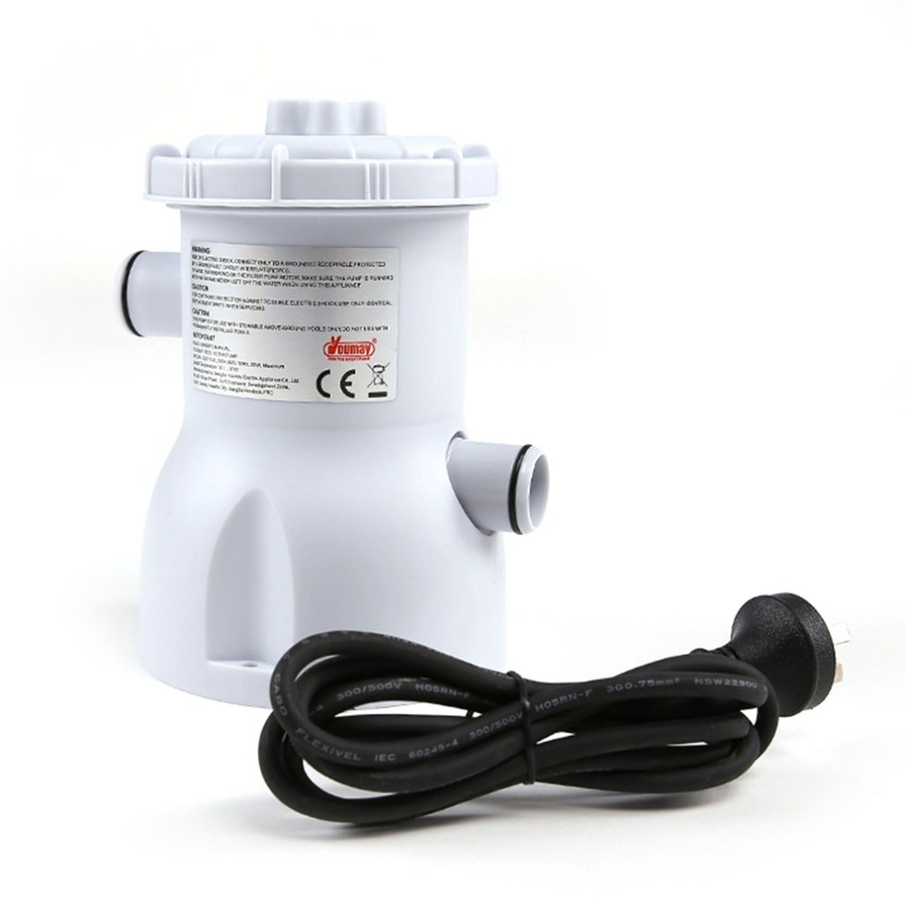 220V Electric Swimming Pool Filter Pump for Above Ground ...