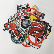 1 pcs Mixed funny hit stickers for stickers toy kids Home decor jdm laptop sticker decal