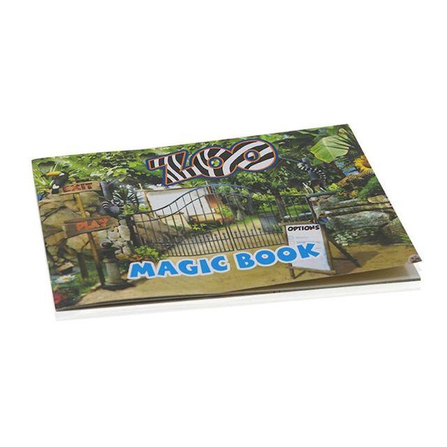 Magic Moving Images Boeken Dier Foto S Goocheltrucs Props Speelgoed Geanimeerde Optische Illusies Kids Geschenken