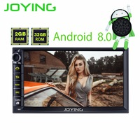JOYING Car Radio Stereo Multimedia Player Double 2 Din Android 8 0 GPS Navigation Universal Support