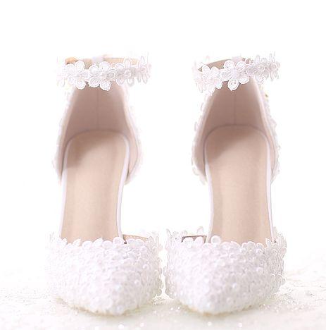 aliexpress: comprar tobillo hebilla correas bombas zapatos