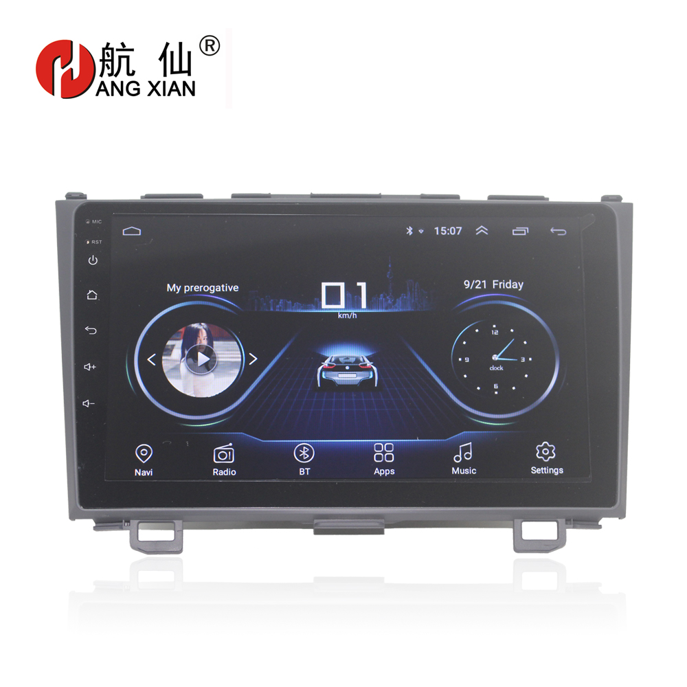 HANG XIAN 9 Quadcore Android 8 1 Car radio for HONDA CR V 2006 2011 car