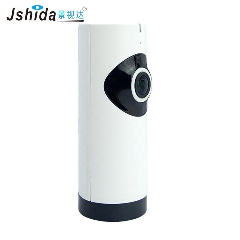 2017 Jshida Fisheye Ip Camera Wifi 720p Hd Wireless Home Security 360 Degree Panoramic Cctv Camera P2p Intercom Remote Control