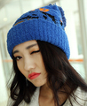 Super thick winter outside Skiing cap warm breathable comfortable female hat senior wool 4color 1pcs brand new arrive
