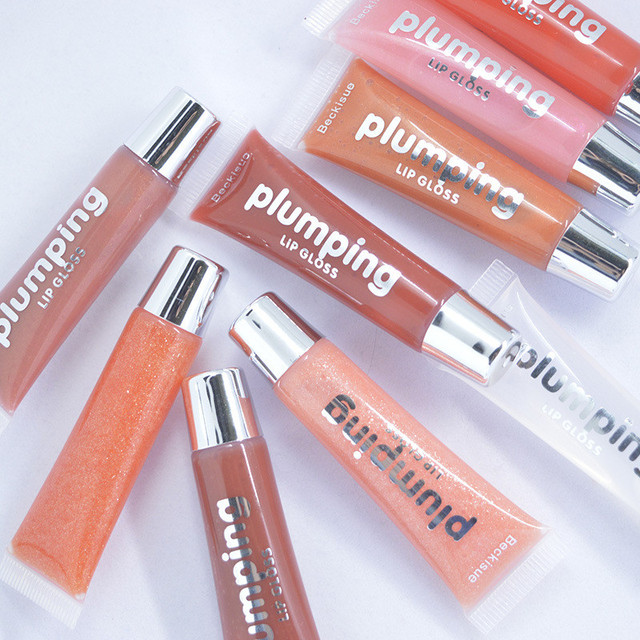 Wet Cherry Gloss Plumping Lip gloss Lip Plumper Makeup Big Lip Gloss Moisturizer Plump Volume Shiny Vitamin E Mineral Oil