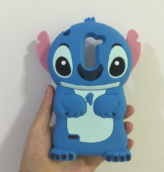 3D Cute Stitch Soft Silicone Rubber Cover Case LG G3 Stylus D690 - ALEX ZHOU Store store