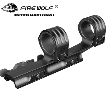Tactical Double Ring Rifle Scopes Mount 30mm/35mm QD Mount fits 21mm rail for hunting rifle