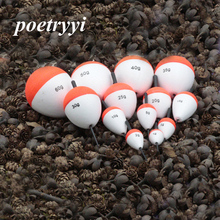POETRYYI 1Pcs/Lot Fishing Floats Set Buoy Bobber Stick Fluctuate 13 Sizes  For Accessories 30
