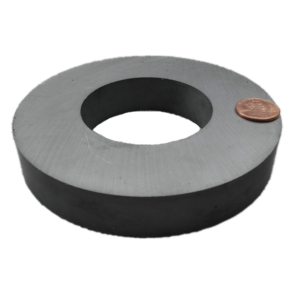 Ferrite Magnet Ring OD 120x60x20 mm 4 7 Large Grade C8 Ceramic Magnets for DIY Loud