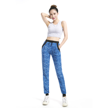 American Apparel Plus Size Drawstring Printed Sweatpant Girls Sport Casual long pant With pocket Running  Style 2230