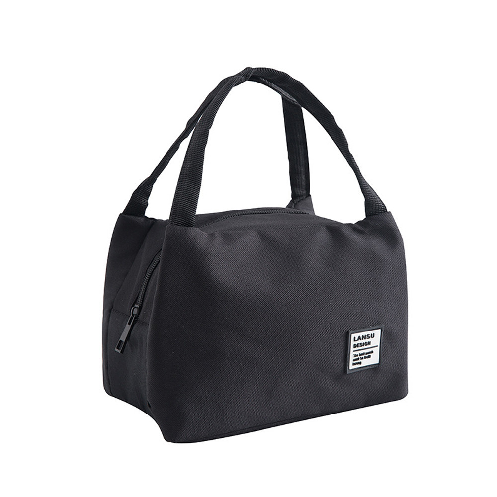 2019 New Lunch Bags For Women Kids Men  Children Insulated Canvas Box Tote Bag Thermal Cooler Food 220