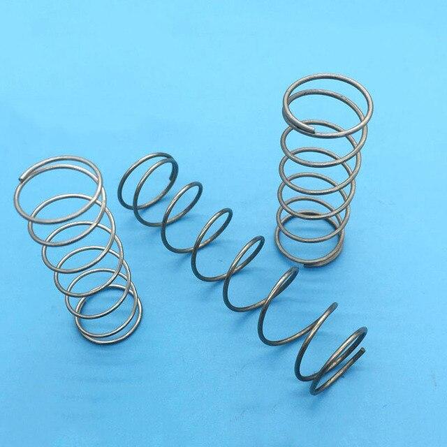 Druckfeder 304 edelstahl drehfeder 1,0 Durchmesser 1*16*50 MM X20 in ...