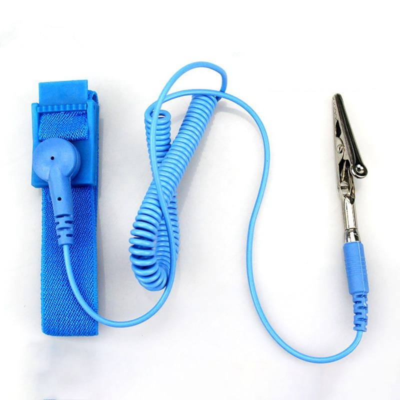 Power Tool Accessories Antistatic Wristband Esd Wrist Strap Blue Metal Discharge For Electrician Ic Plcc Worker Antistatic Bracelet Free Shipping Available In Various Designs And Specifications For Your Selection Back To Search Resultstools