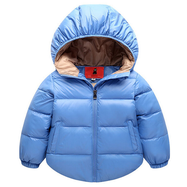Children Baby Down Coat Parkas Kid clothes Winter warm Boys girls jackets coats baby thermal liner down Thicken outerwear Puffer