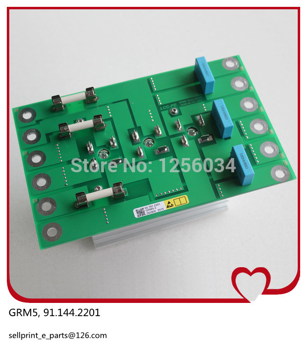1 piece high quality GRM 5 board 91.144.2201,heidelberg GRM5 board, 5V provide power for NTK board 1 piece free shipping heidelberg connecting part of power converter svt board 91 101 1112 high quality