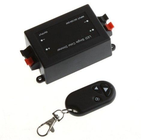 В DC 12 В в 24 В RF беспроводной контроллер переключатель светодио дный светодиодный диммер прожектор полосы света