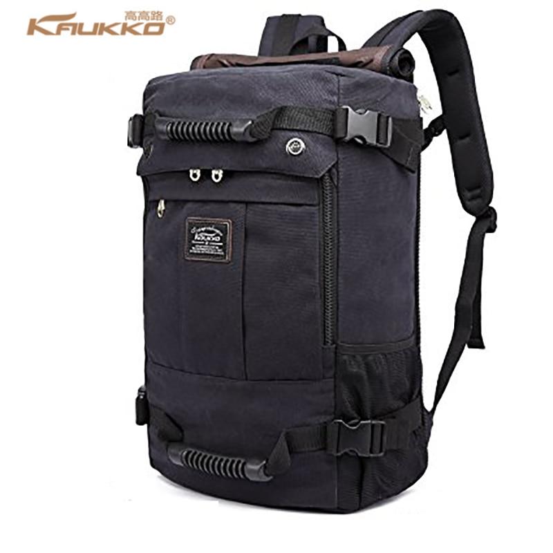Kaukko 2017 عالية السعة محمول مدرسة الرجال قدرة كبيرة حقيبة الظهر قماش عطلة نهاية الأسبوع حقائب سفر متعددة الوظائف K1027