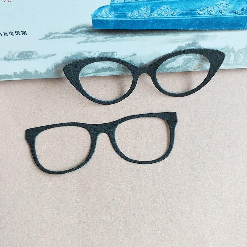 Nouveau 3D bricolage 2018 fille métal coupe matrices et Scrapbooking Nouveau pour la fabrication de papier gaufrage lunettes cadre timbre artisanat carte Die