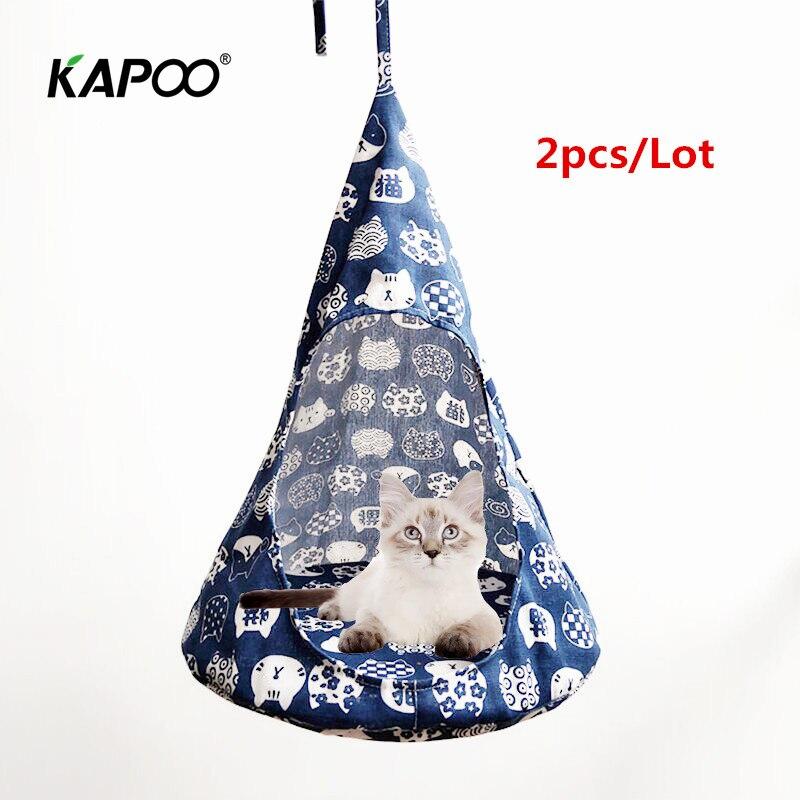 4 Colors Confortable Hanging Cat Bed Mat Soft Cat Hammock Winter Hammock Pet 2019 Newest Warm Modren Design 2pcs/Lot