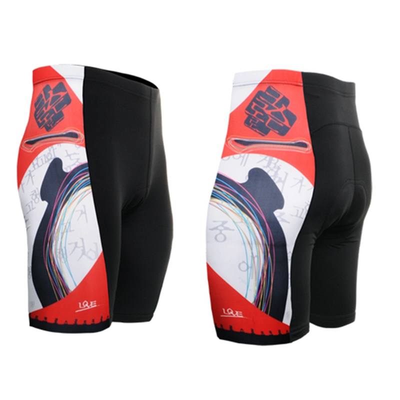 2018 Summer Style Cycling Shorts Breathable Quick Dry Culotte Ciclismo Gel Pads Men High Elasticity Road Bike MTB Shorts