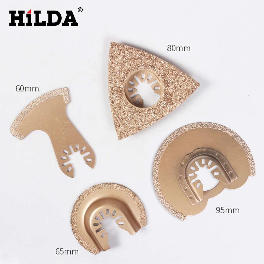 HILDA Diamond Swing Blade Quick Release Oscillating Tool Saw Blades Accessories Fit For For Multimaster Power Tools