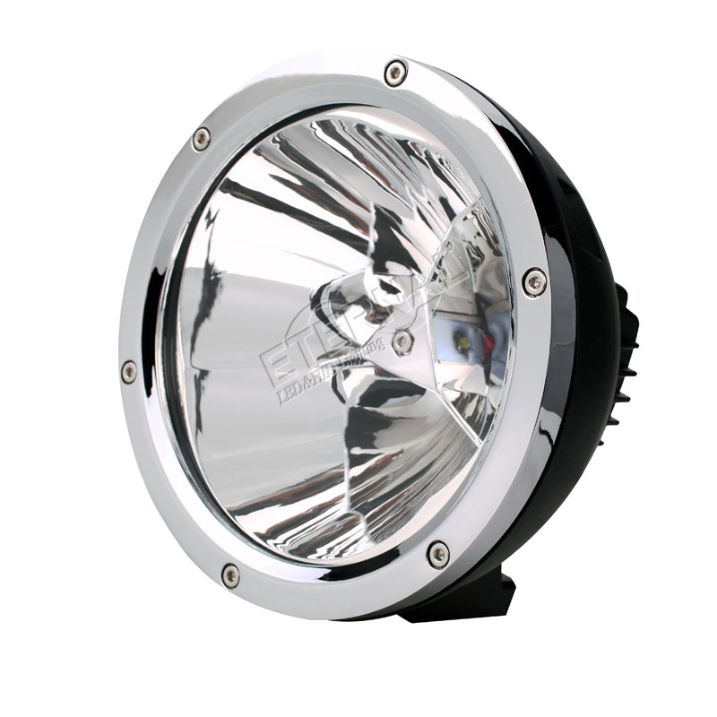 pair 45W 6.7in round Cannon LED driving spotlight for 4x4 ATV UTV semi truck trailer boat 4WD racing off-road work lamp 7inch 45w led cannon lights round spot driving spotlight work lamp with focused beam for suv 4wd off road truck suv atv offroad