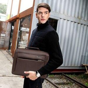 Image 3 - Fashion Business Briefcases Man For Lawyer Messenger Bag Men Shoulder Bags Laptop MenS Briefcases 2019 Handbag Crossbody Bag