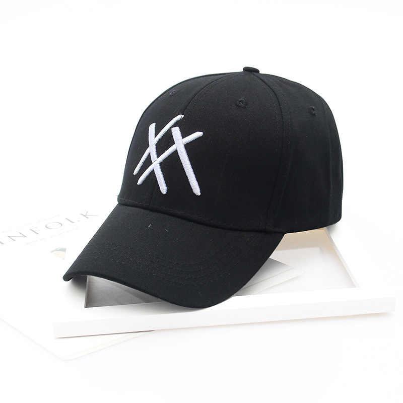 Nuovo Modello Lovers Cappelli Coreano Lettera Del Ricamo Cappello Da Baseball XX Estate Protezione Solare Cappello Da Sole All'ingrosso Book Fare
