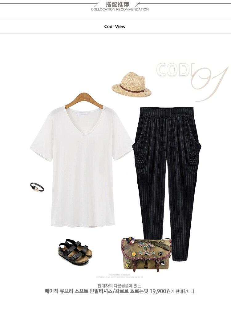 HTB17ovCQVXXXXbEapXXq6xXFXXXq - FREE SHIPPNG Women Summer Pants High Waist Stripe JKP245