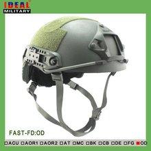 С отчетом по испытанию АА щит Противопульный высокая вырезать тактический шлем Арамидных безопасности ІІІА ОД прочный шлем
