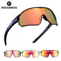 Gafas polarizadas deportivas de ciclismo ROCKBROS para hombres y mujeres ligeras UV400 para pesca, Golf, senderismo, gafas de sol al aire libre