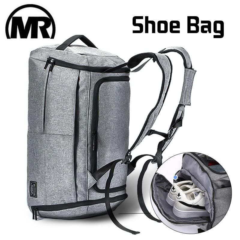 1dc86a644291 MARKROYAL Anti-theft многофункциональная сумка для путешествий Ручной  Чемодан вещевой сумки мода рюкзак выходные большая сумка человек Backage  вещевой.