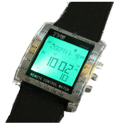 2014-H-TVG-Remote-Control-Alarm-TV-DVD-Remote-Military-Watch-For-Men-Digital-Stainless-Steel3