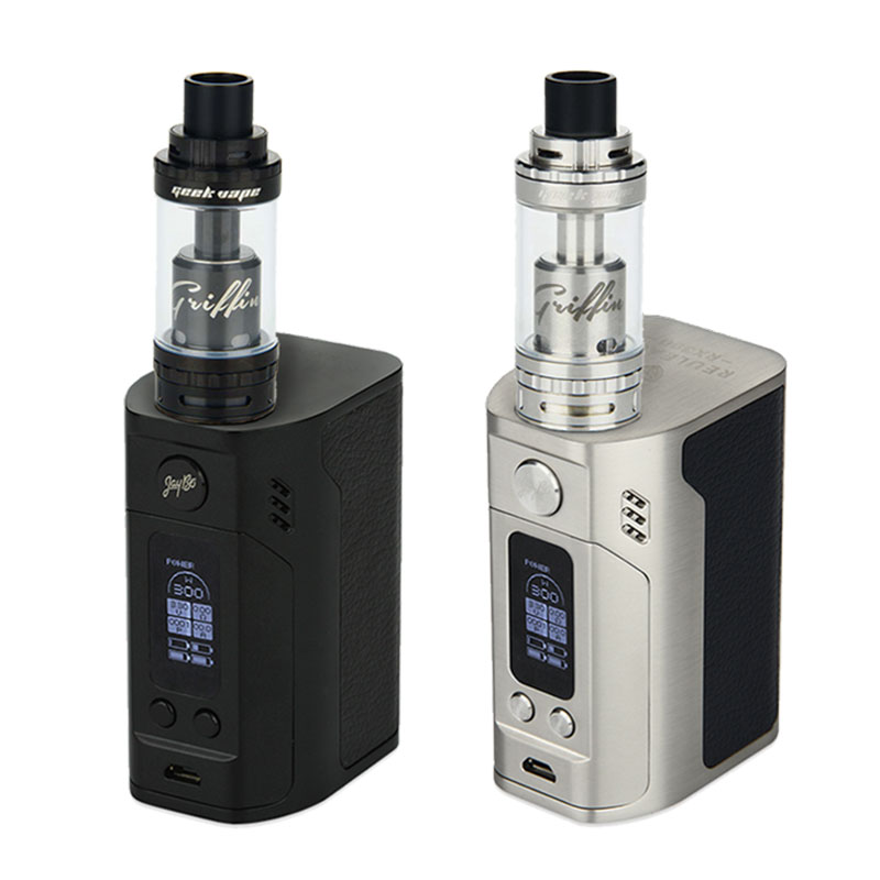 Original WISMEC Reuleaux RX300 TC Temp Control Mod 300W For GeekVape Griffin 25 RTA Top Airflow Tank 6ml vs RX 300 Box Mod termica ah 6 300 tc