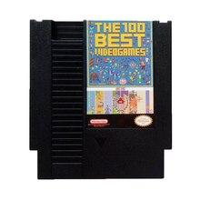 Los Mejores Juegos de NES cartucho de juego 100 en 1 con El Polvo de La Manga