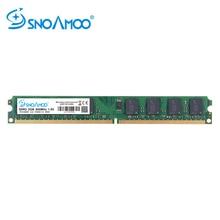 Snoamoo Настольный ПК DDR2 2 ГБ ОЗУ 800 мГц 667 мГц PC2-6400U CL6 240Pin 1,8 В памяти для Intel совместимость памяти компьютера
