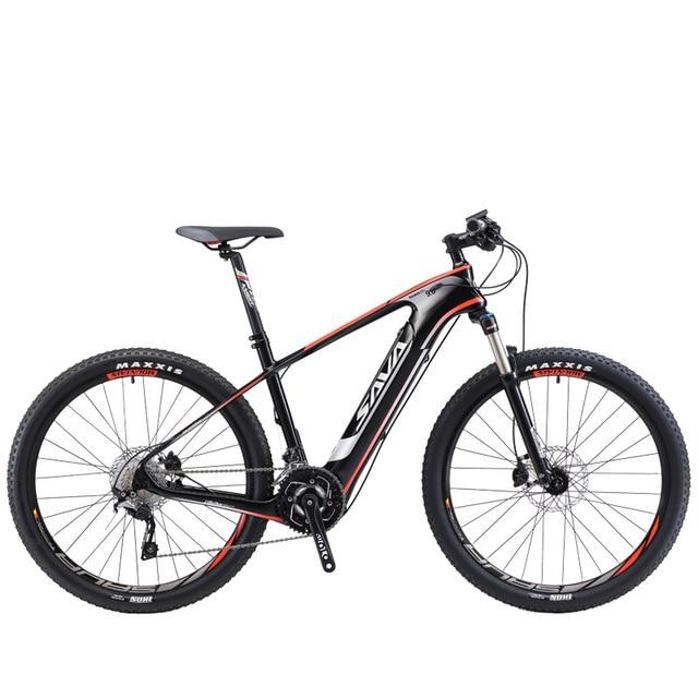 Сава Audlt Электрический велосипед углерода Электрический горный велосипед мощный электровелосипед электрический велосипед с Shimano M8000 и 350 w 36 v Батарея
