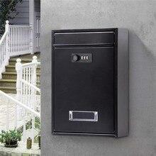 Почтовый ящик Posta Kutusu с паролем, наружный почтовый ящик, почтовый ящик Buzon Cartas, наружный настенный ящик Buzones De Correo