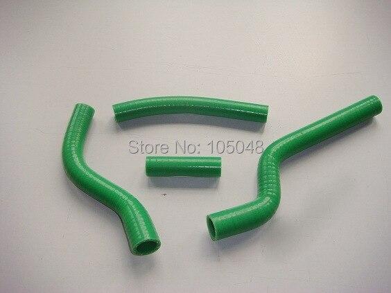 Силиконовый шланг радиатора подходит для 2007-2009 YAMAHA YZF250 YZ250F 07 08 09 зеленый